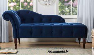 این شزلون ها شبیه صندلی های راحتی یا صندلی های لانژ هستند، یک پشتی دارند که فقط یک ضلع مبل را در می گیرد که طراحی ساده و بسیار شیک دارند و این مدل در خانه های لاکچری بسیار دیده میشود