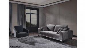 صندلی های سه تایی دارای پاهای بلندی هستند و از لحاظ نظافت کار شما را بسیار آسان می کنند.