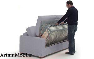 یک مبل معمولی ، فوتون ، مبل تختخواب شو یا یک مبل تختخواب شو باشد.