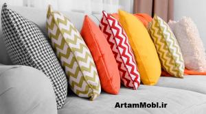 سعی کنید از رنگ های شاد و یا ست با مبلمان خود استفاده کنید تا خانه ای لاکچری داشته باشید