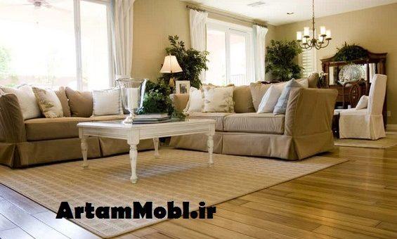 کدام شکل از فرش برای مبل راحتی مناسب است